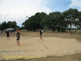 Beachvolleyball Turnier Nettelkamp 2008
