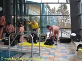 Handicap-Tauchgangsbegleiter - Prüfung