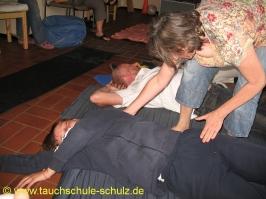 Kinaesthetics Workshop für Handicap Tauchen