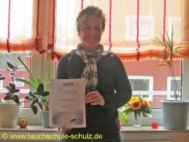 Claudia Lindner, Spezialkurs Nitrox Basic Diver, 28.03.2011