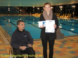 Majbritt Bullerjahn, IDA CMAS Grundtauchschein, 30.11.2012